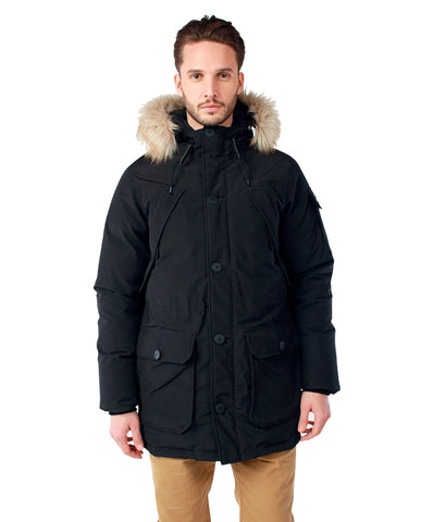 Penfield Men's Hoosac Hooded Down Mountain Parka