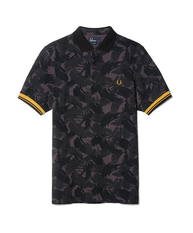 Fred Perry Men's Camouflage Pique Shirt