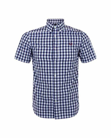Fred Perry Men's Pastel Gingham Shirt