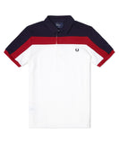 Fred Perry Men's Paneled Pique Shirt