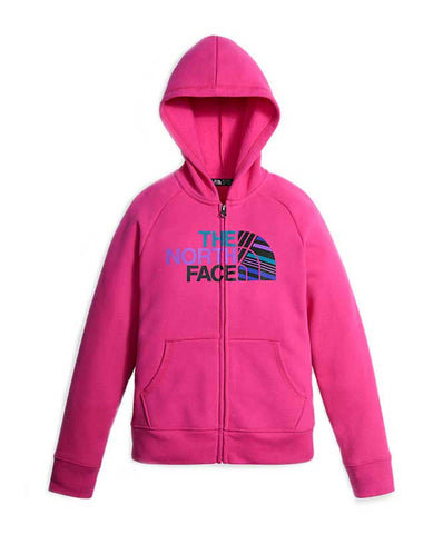 The North Face Girl's Logowear Full-Zip Hoodie
