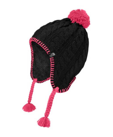 The North Face Girl's Fuzzy Earflap Beanie