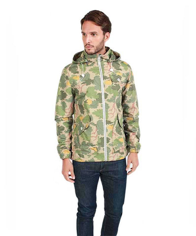Penfield Men's Gibson Two Tone Rain Jacket