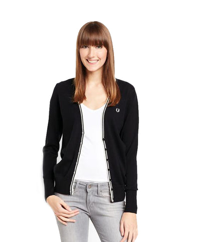 Fred Perry Women's Classic Tipped Cardigan