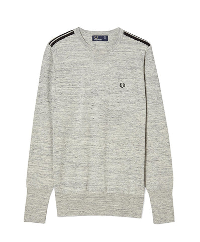Fred Perry Women's Tipped Crew Neck Sweater