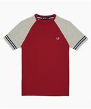 Fred Perry Men's Raglan Ringer Tee Shirt