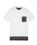 Fred Perry Men's Tartan and Oxford Shirt