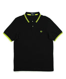 Fred Perry Men's Neon Tipped Shirt
