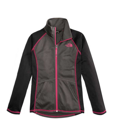 The North Face Girl's Tek Glacier Full-Zip Jacket