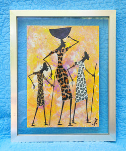 Kenyan Original Paintings (P17)