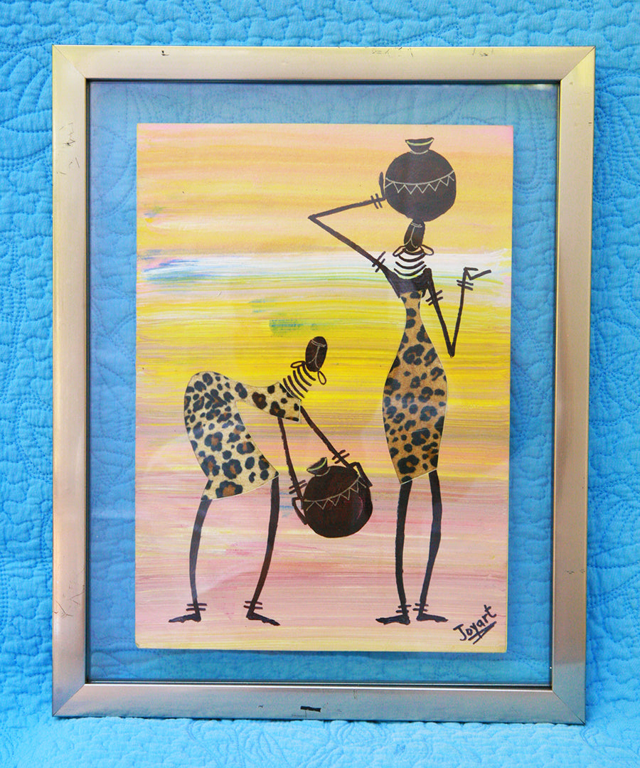 Kenyan Original Paintings (P18)