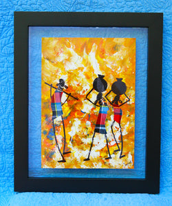 Kenyan Original Paintings (P23)