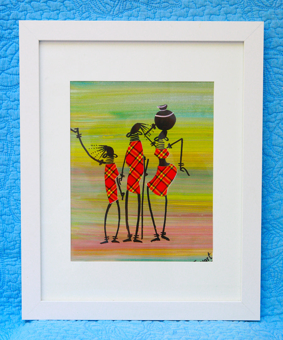 Kenyan Original Paintings (P06)