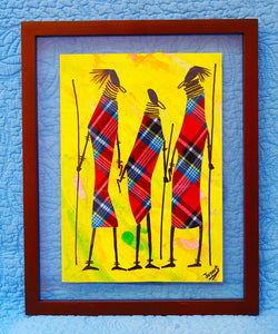 Kenyan Original Paintings (P13)