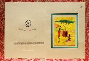 Kenyan Artwork Greeting Cards (C31)