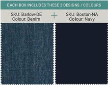 Load image into Gallery viewer, Men's Barlow - Denim & Boston - Navy (2 in a pack)