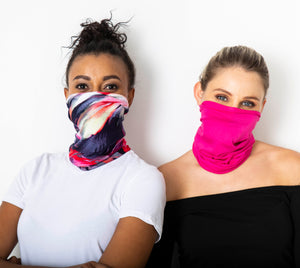 Safe snoods - Pink & Cerise (2 in a pack)