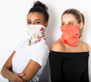 Safe snoods - Watermelon & Coral (2 in a pack)