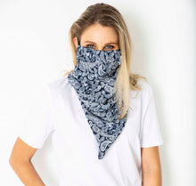 Load image into Gallery viewer, Scarf mask - Navy