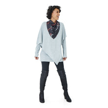 Load image into Gallery viewer, OVERLAY TUNIC - PALESA - SILVER