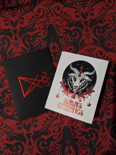 Satan's Greetings Card