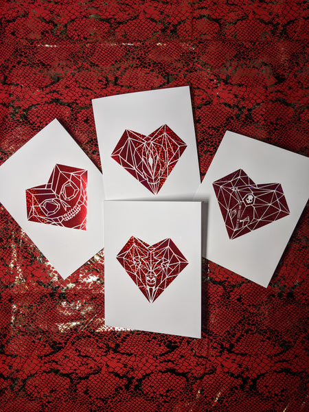 Lupercalia Geometric Card Set