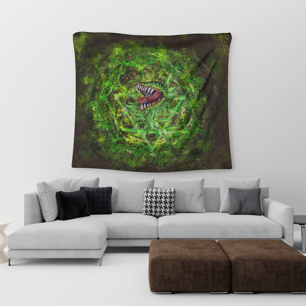 Monster Plant Tapestry