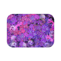 Death Flowers Bath Mat