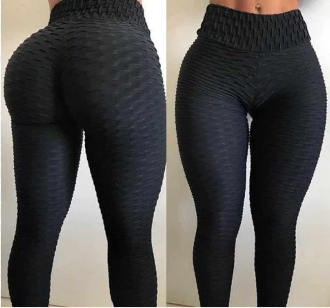 Ruched Ankle Length Leggings