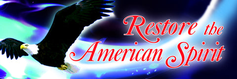 Restore the American Spirit Sticker