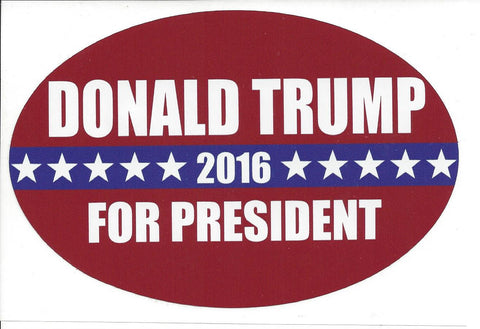 Donald Trump For President 2016 Sticker