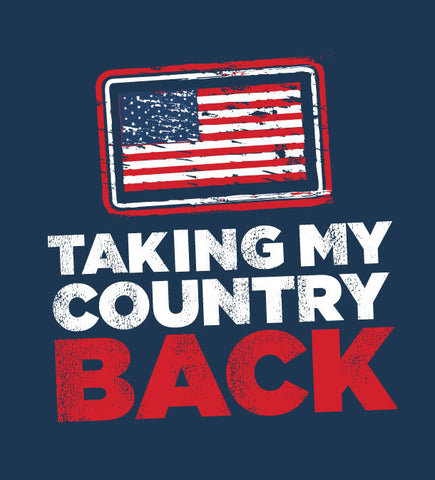 Taking My Country Back! Sticker