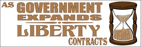 As Government Expands Liberty Contracts Sticker