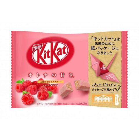 Kit Kat Lampone in sacchetto carta eco friendly - 136g
