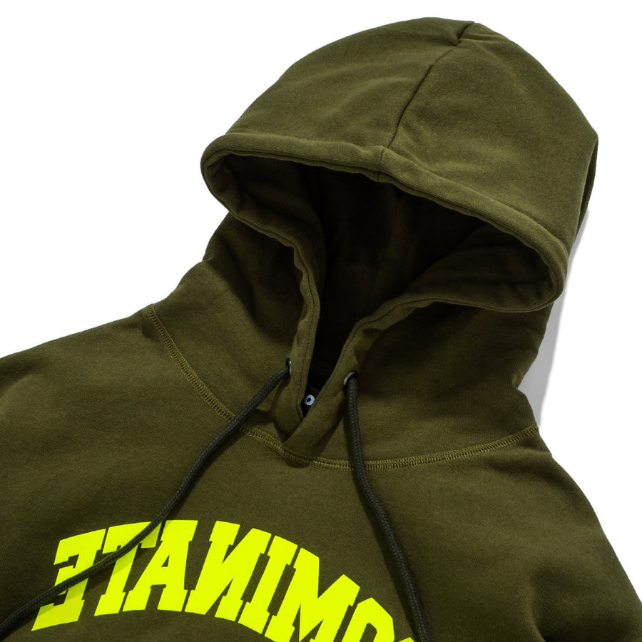REVERSE ARC PULLOVER HOODIE OLIVE