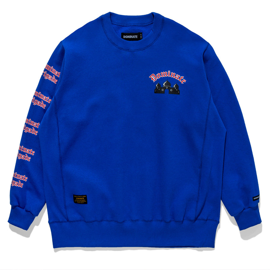 CASBAH CREWNECK ROYAL BLUE