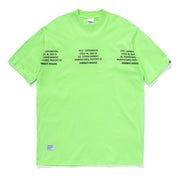GRID SPEC TEE NEON GREEN