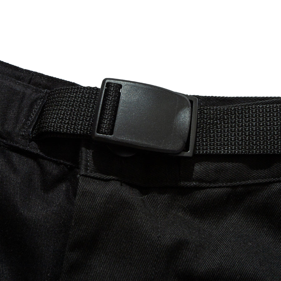 RELAXED MOUNTAINEER PANTS BLACK