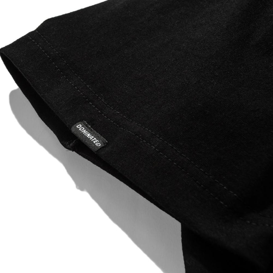 CASBAH POCKET TEE BLACK
