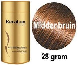 Keralux Haarvezels middenbruin-medium brown