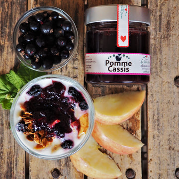 Compote pomme & cassis