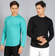 COMBO PACK FULL SLEEVES | COLOMBIA TEAL + JET BLACK
