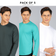 Combo Of 3 - Full Sleeves (Choose Colors)