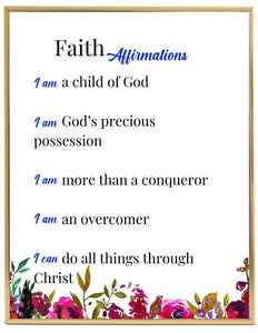 Bible Affirmations