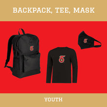 Load image into Gallery viewer, Retro Backpack & T-shirt Pack - Youth