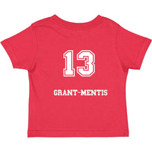 Load image into Gallery viewer, Grant-Mentis 13 Toddler Shirsey
