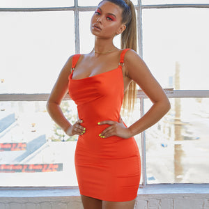 Spaghetti Strap Sexy Summer Dress Women