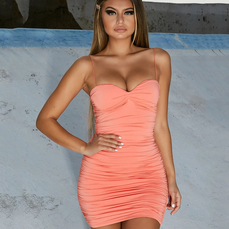 Summer Sexy Party Dress Mini Female