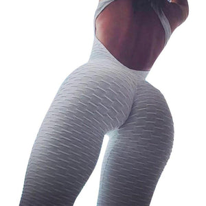 Sexy Women's Tracksuit Yoga Pants High Waist Gym Play Suit Push up