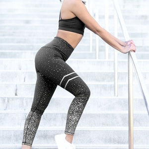High Waist Seamless Leggings Push Up 2 Pieces
